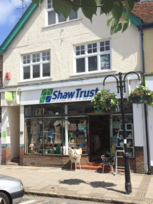 Shaw Trust Charity Shop