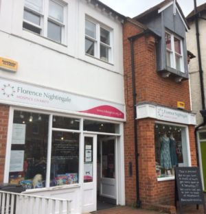 Florence Nightingale hospice Charity Shop