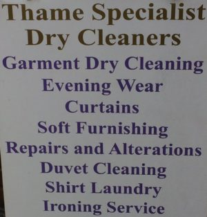 Thame Specialist Dry Cleaners