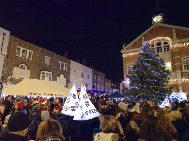 Christmas in Thame